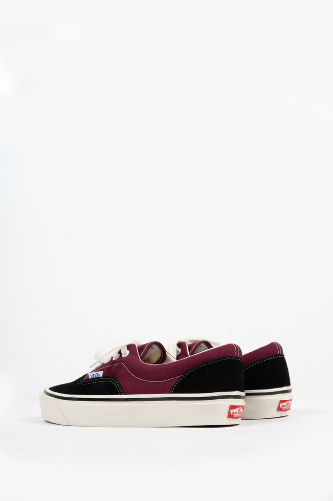 VANS ERA 95 DX ANAHEIM FACTORY OG BLACK BURGUNDY