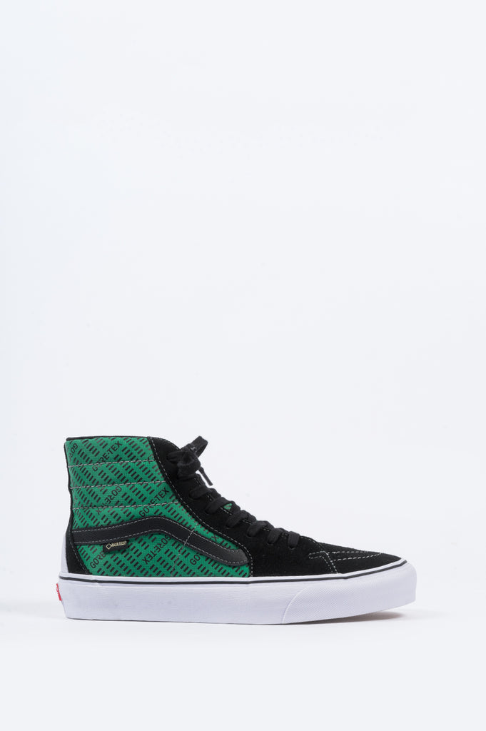 VANS VAULT X GORE-TEX SK8-HI BLACK GREEN - BLENDS