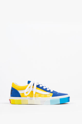 VANS KIDS OLD SKOOL (MOMA) COLOR WHEEL