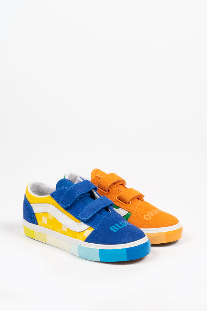 VANS TODDLER OLD SKOOL (MOMA) COLOR WHEEL