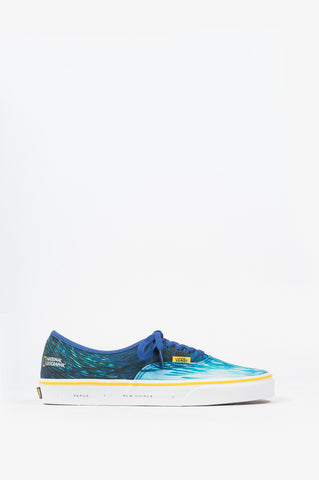 VANS X NATIONAL GEOGRAPHIC AUTHENTIC OCEAN MULTI