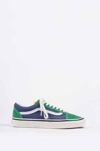 VANS ANAHEIM FACTORY OLD SKOOL 36 DX OG EMERALD OG NAVY - BLENDS