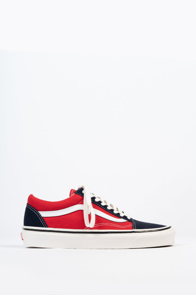 VANS ANAHEIM FACTORY OLD SKOOL 36 DX OG NAVY RED