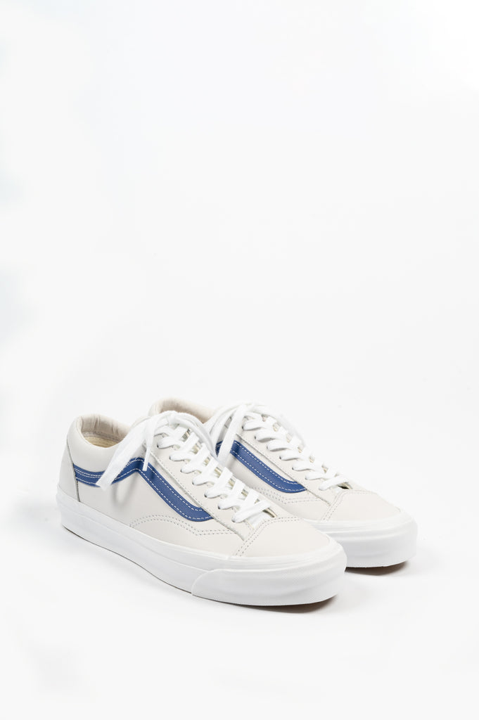 VANS VAULT OG STYLE 36 LX LEATHER BLUE WHITE