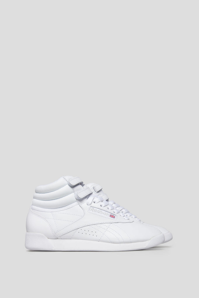 REEBOK WOMENS FREESTYLE HI WHITE - BLENDS