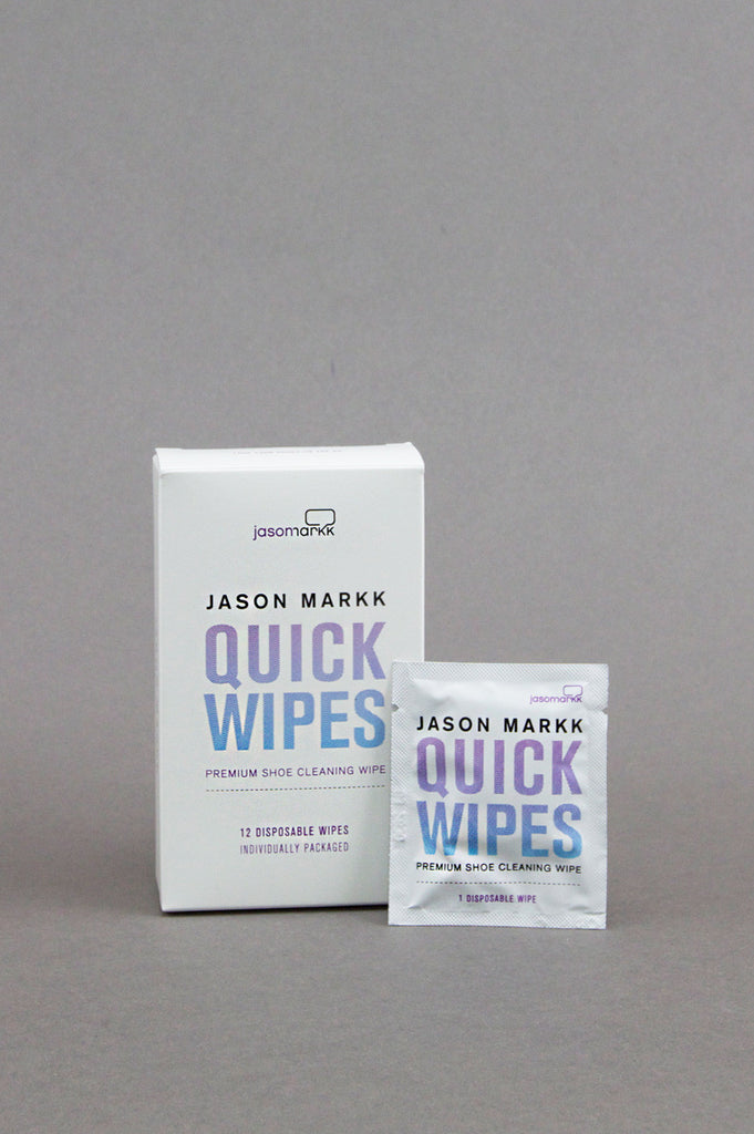 JASON MARKK PREMIUM SHOE CLEANER QUICK WIPES - BLENDS