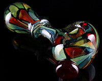 High Noon Stained Glass Pipe