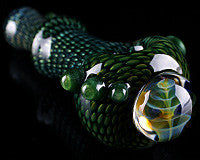 Firekist Snakeskin Fume Collapse Pipe