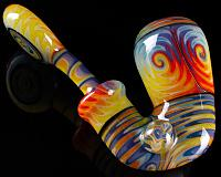 Katy Wright x Natures Finest Glass Sherlock Collab