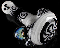 Dave Umbs Black & White Linework Pipe
