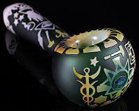 Liberty 503 Blasted Occult Pipe