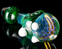 Catfish Exp Green Honeycomb Frit Pipe