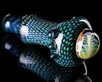 Firekist Snake Skin Fume Collapse Marble Pipe