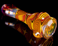 Mitchell Glass Faceted Linework Hitter
