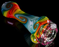 Mitchell Glass Faceted CFL Linework Hitter