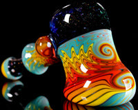Mitchell Glass Crushed Opal Wig Wag Hammer