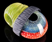 Junkie Glass Beanie Eye Pendant