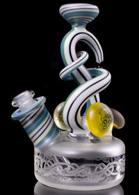Cambria x GZ Blasted Celtic Knotwork Freestyle Puck Rig
