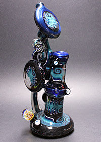 Dave Umbs Crushed Opal Bubbler