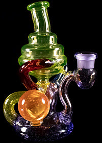 n3rd Glass Rainbow Klein Recycler
