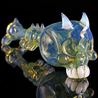 OG Lunar Rays Demon Skull Pipe