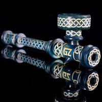 KG x GZ Blasted Celtic Knotwork Steamroller
