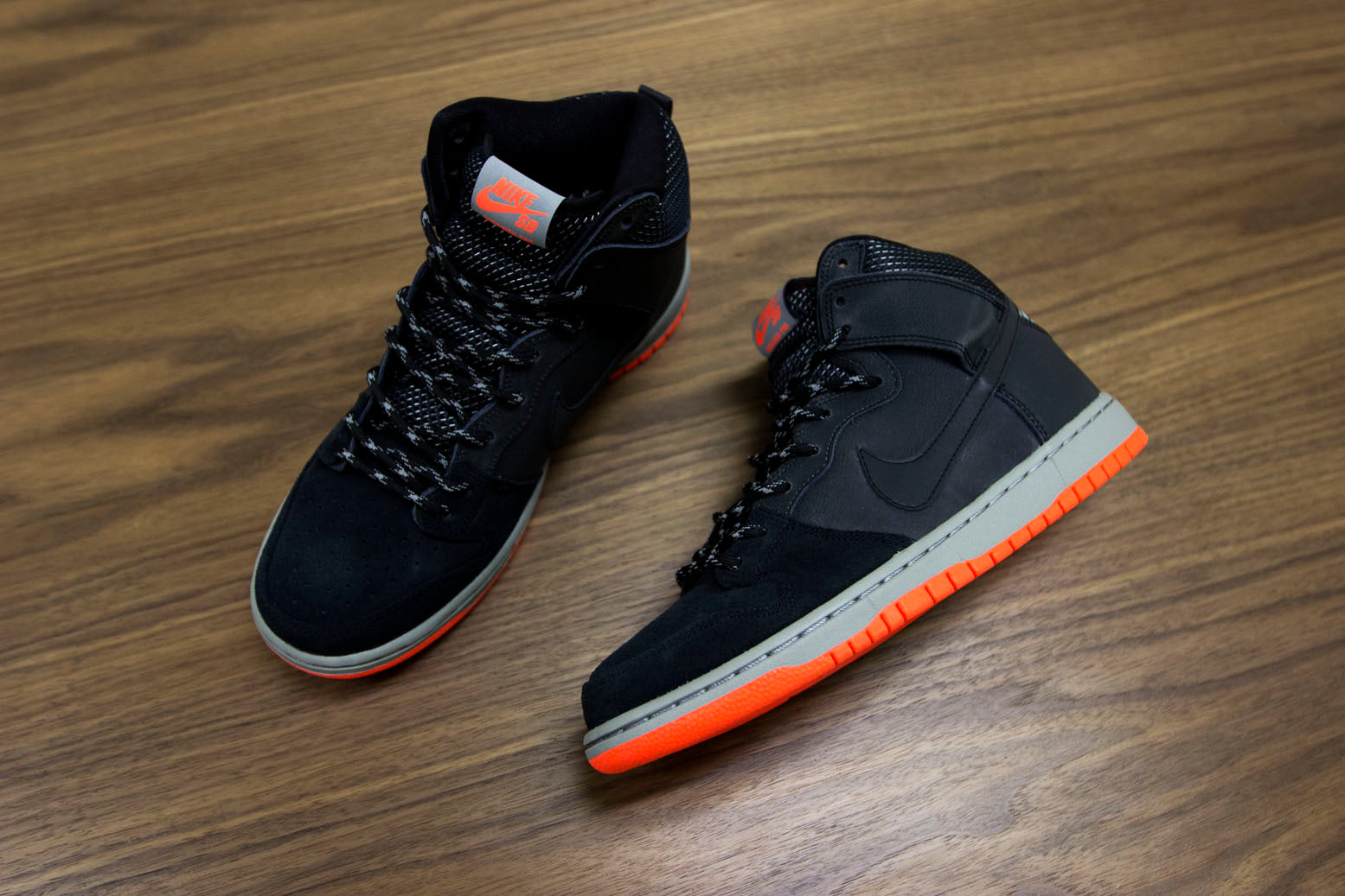 50afc30dbc5efc reduced nike sb dunk high premium 3m new images 55d41 47b98  good features  to its beloved sb dunk high premiums. the new waterproofing technology  gives you