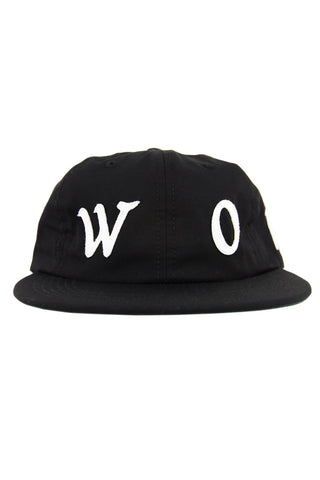 Flock Polo Cap Black