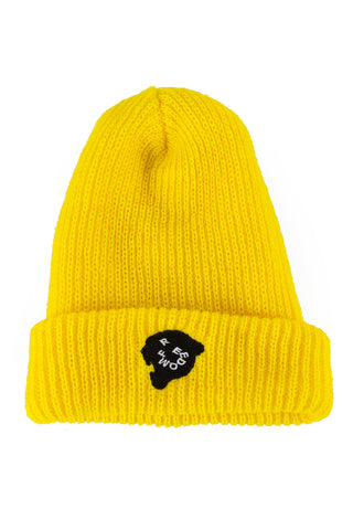 Freedom Beanie Yellow