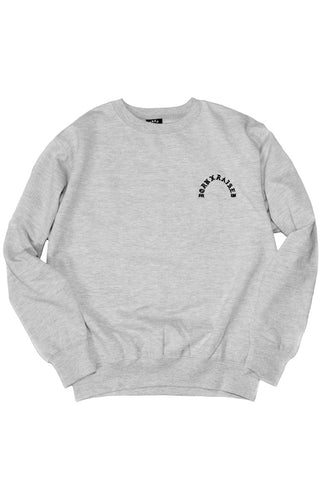 Type Crewneck Heather Grey