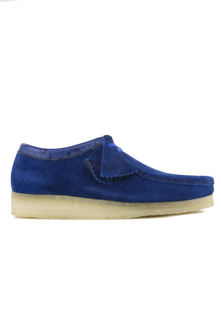 Stussy Clarks Wallabees Fresh Blue