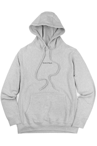 Micrologo Hoodie Heather Grey