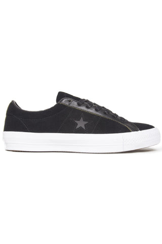 CONS ONE STAR PRO OX BLACK WHITE