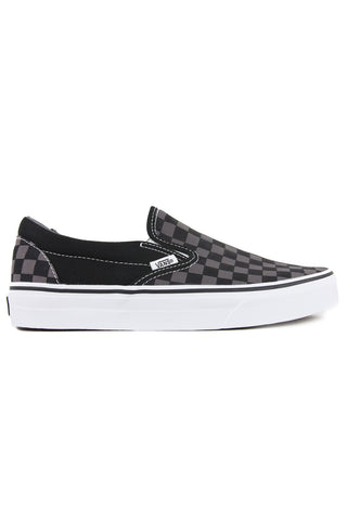 CHECKERBOARD SLIP-ON Black