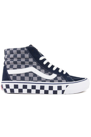 Sk8-Hi Pro 50th Anniversary Checker/Blue/Grey