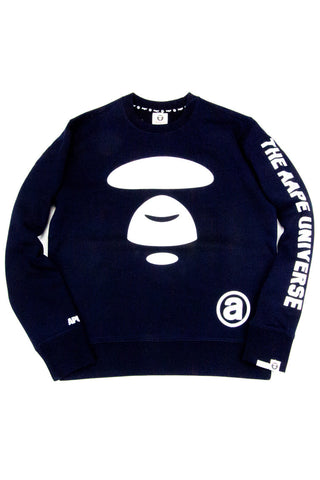 MOONFACE TEAM SWEAT NAVY