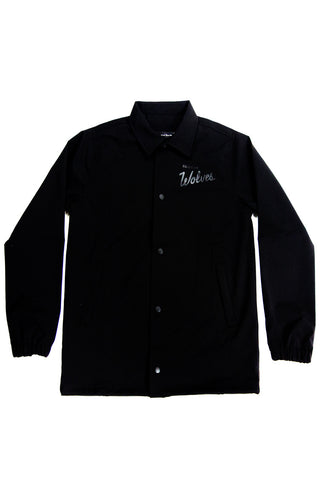 Villeray Coaches Jacket Black