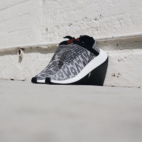 NMD CS2 PRIMEKNIT BLACK GREY WHITE