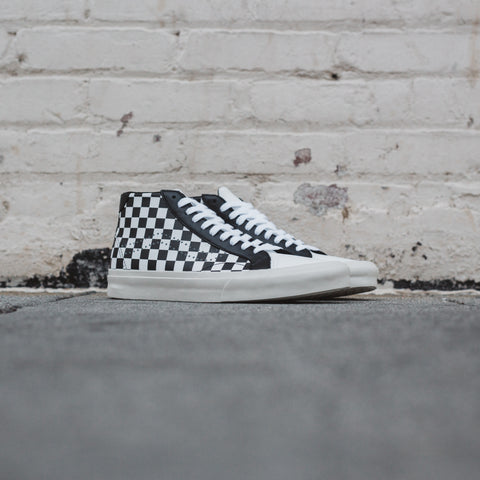 VANS COURT MID CHECKER TRUE WHITE