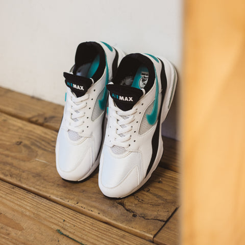 NIKE AIR MAX 93 WHITE DUSTY CACTUS