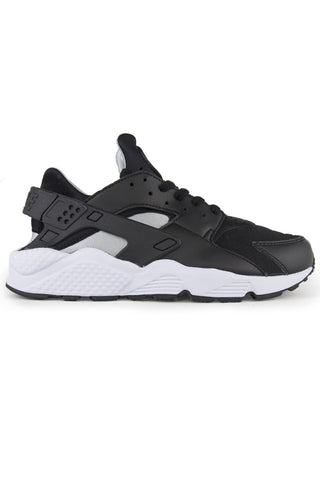 Air Huarache Run Black Silver