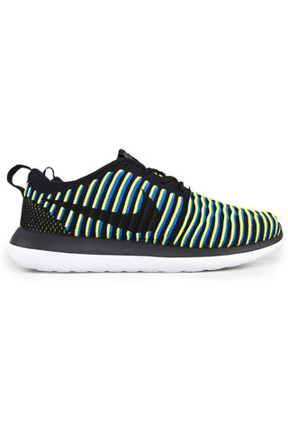 WMNS Roshe Two Flyknit Blue Volt