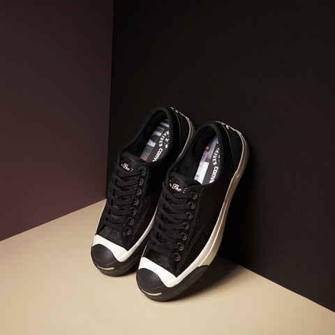 CONVERSE X BORN X RAISED JACK PURCELL SIGNATURE LOW TOP BLACK