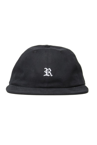 Gothic Polo Cap Black