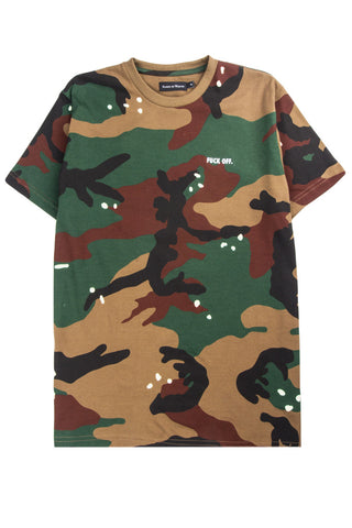 Fuck Off T-Shirt Camo