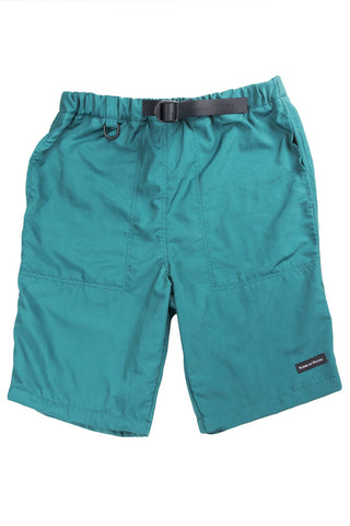 Fitzroy Belted Shorts Dark Teal