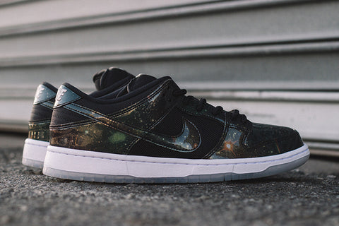 "Nike SB Dunk Low TRD ""Intergalactic"" Black White"