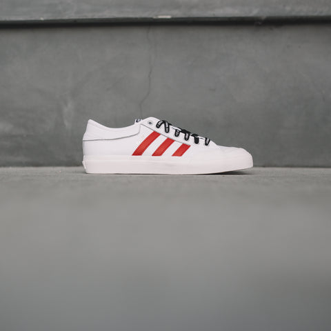 ADIDAS MATCHCOURT X TRAPLORD WHITE RED BLUE