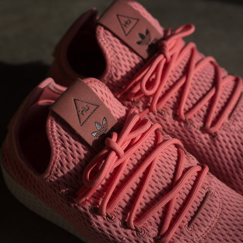 PHARRELL WILLIAMS TENNIS HU SHOES PINK MEN