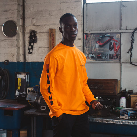VERY RARE LONG SLEEVE ORANGE